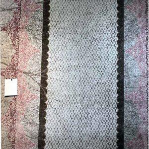 فرش مدرن ساوین کد ۱۵۰۵ صورتي