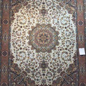 فرش مشهد ١٢٠٠ شانه كد ٨٠٢٠٠١ كرم