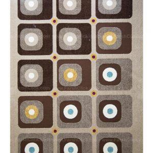 فرش ماشینی مدرن فانتزی ساوین – آدنا – آفاق – قالیچه (کد : ۲۸۸)