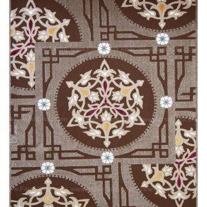 فرش ماشینی مدرن فانتزی ساوین – آدنا – آویشن – قالیچه (کد : ۲۹۸)