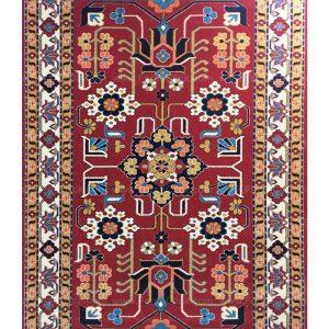 فرش ماشینی مدرن فانتزی ساوین – پازیریک – مهربان – قالیچه (کد : ۳۲۴۷۷)