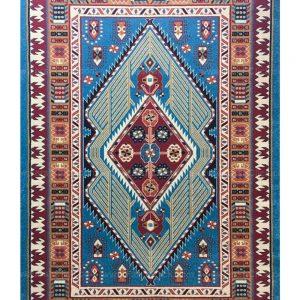 فرش ماشینی مدرن فانتزی ساوین – پازیریک – آرتا – قالیچه (کد : ۱۰۵۹۵)