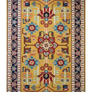فرش ماشینی مدرن فانتزی ساوین – پازیریک – مهربان – قالیچه (کد : ۴۴۴)