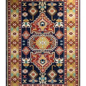 فرش ماشینی مدرن فانتزی ساوین – پازیریک – طوبی – قالیچه (کد : ۱۰۶۲۰)