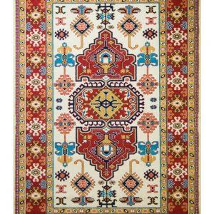 فرش ماشینی مدرن فانتزی ساوین – پازیریک – طوبی – قالیچه (کد : ۱۰۶۲۵)
