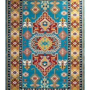 فرش ماشینی مدرن فانتزی ساوین – پازیریک – طوبی – قالیچه (کد : ۱۰۶۱۵)