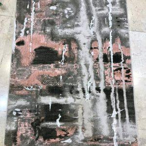 فرش رادين طرح کالیفرنیا (۹۰۱) صورتی اکرولیک