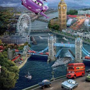 فرش کودک ماشين مك كويين در لندن