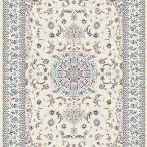 فرش رادين اصفهان طرح نایین صدفی ۱۰۶۹- صدفی