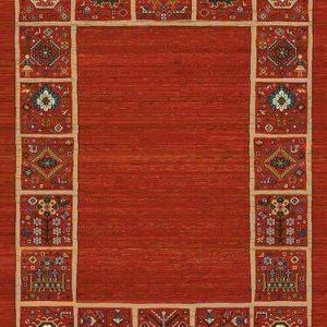 فرش رادين اصفهان گبه مارینا ۱۰۷۲-لاکی