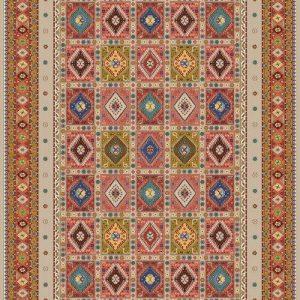 فرش رادين اصفهان یَلَمه ۱۰۹۸ – رزی