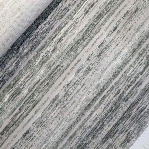 فرش ماشینی فرش رادین طرح گبه ۱۴ رنگ زمینه طوسی