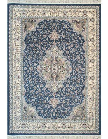 فرش ماشینی اردهال مشهد طرح ۱۲۰۵۶ رنگ اطلسی