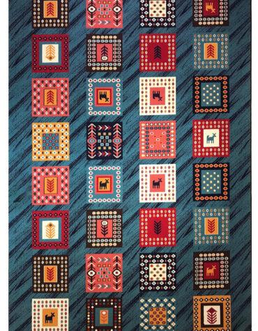 فرش ستاره کویر یزد گیلم ۷۰۱
