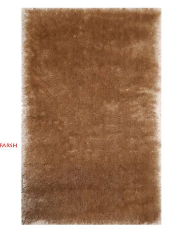 فرش ماشینی طرح شگی کد ۵۰۱۳ زمینه نسکافه ای
