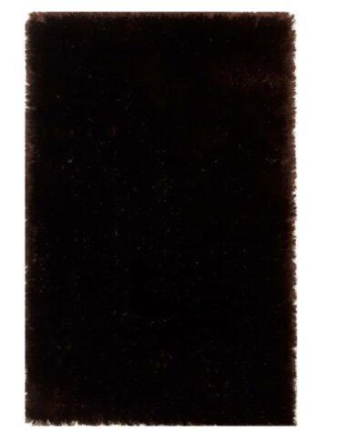 فرش ماشینی طرح شگی کد ۵۰۱۳ زمینه قهوه ای تیره