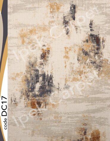 فرش ماشینی ایپک طرح وینتیج کد DC17