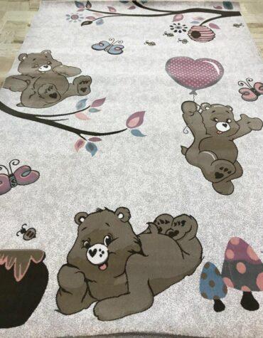فرش  آنا کودک فیل خرس های مهربون