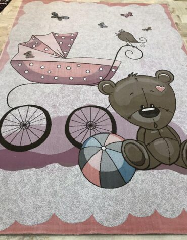 فرش  آنا کودک فیل خرس تنها