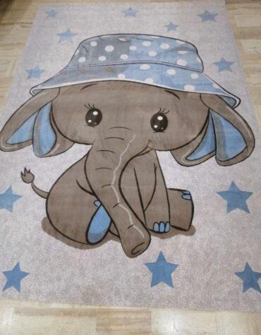 فرش  آنا کودک فیل کوچولو