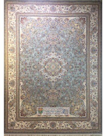 فرش نگیم ابریشم مشهد طرح ۱۴۱۶فیلی