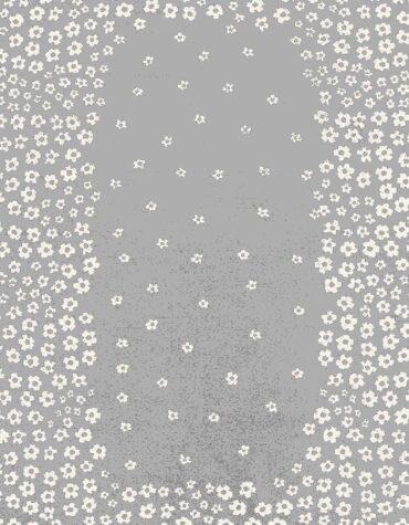 فرش ساوین کد ۴۰۰۷ زمینه نقره ای