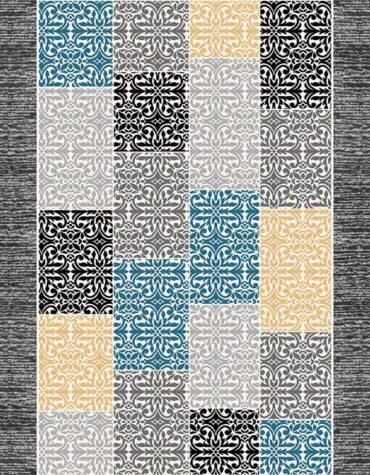 فرش ساوین کد ۴۰۴۴ زمینه طوسی