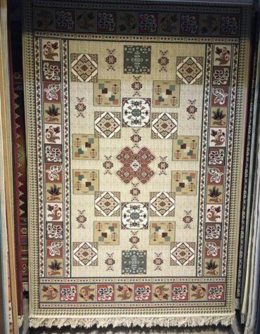 فرش ستاره کویر یزد کلکسیون سوپر گیلیم طرح G1910