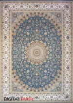 فرش مشهد اردهال طرح ۱۲۰۰۵۴ رنگ اطلسی