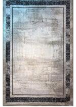 فرش پایتخت اکسیر  بامبو  طرح V03  طوسی
