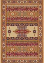 فرش ستاره کویر یزد کلکسیون شاهسون طرح B001-5001