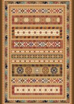 فرش ستاره کویر یزد کلکسیون شاهسون طرح W390-5113