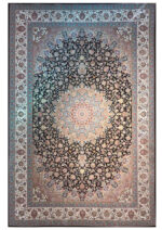 فرش مشهد اردهال طرح ۱۲۰۱۵ قهوه ای