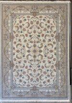 فرش ستاره کویر یزد ۱۰۰۰ شانه تراکم ۳۶۰۰ طرح E-040-2003