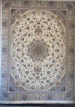 فرش ستاره کویر یزد ۱۰۰۰ شانه تراکم ۳۶۰۰ طرح E-041-2003