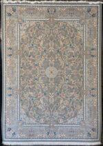 فرش ستاره کویر یزد ۱۰۰۰ شانه تراکم ۳۶۰۰ طرح E-040-2077