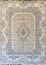 فرش ستاره کویر یزد ۱۰۰۰ شانه تراکم ۳۶۰۰ طرح E-042-2030