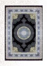 فرش جردن طرح صوفیا مشکی