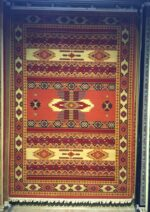 فرش ستاره کویر یزد کلکسیون شاهسون طرح B001-5030