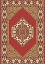 فرش ستاره کویر یزد کلکسیون شاهسون طرح B040B-5140