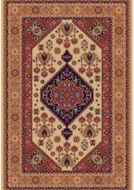 فرش ستاره کویر یزد کلکسیون شاهسون طرح B005-5001