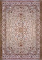 فرش رادین اصفهان طرح گل رز آرامش