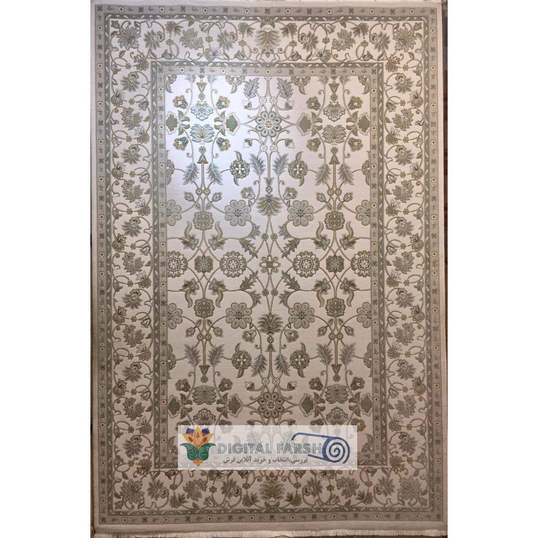 فرش رادین اصفهان طرح آنتیک لاکچری طوسی