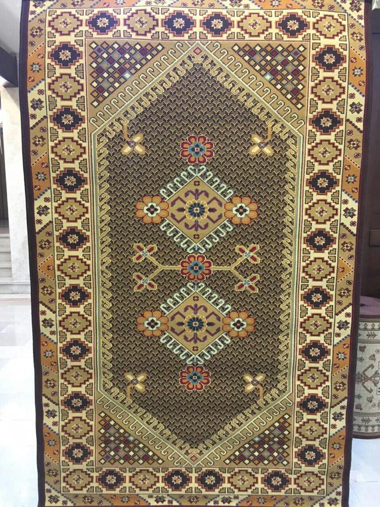فرش ستاره کویر یزد کلکسیون سوپر گیلیم طرح G043A-8190