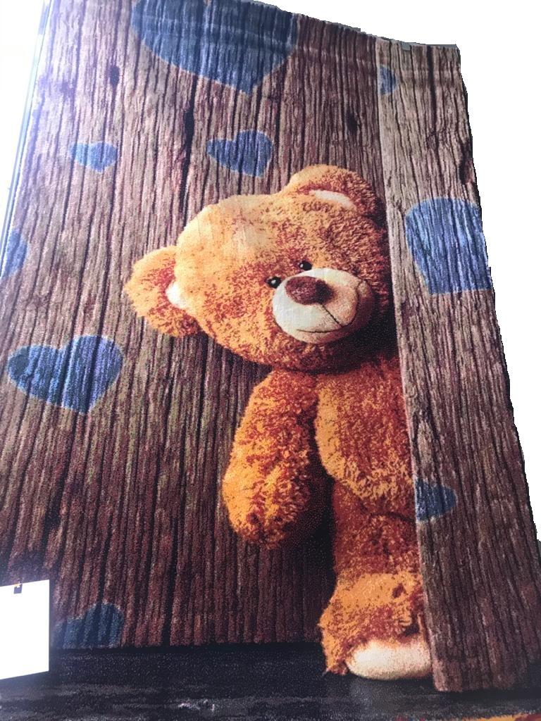 فرش کودک آنا ۱۱۳۶ خرس تدی