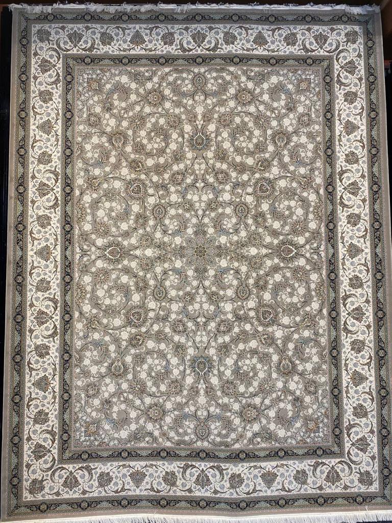 فرش ستاره کویر یزد ۱۵۰۰ شانه افشان نوک مدادی