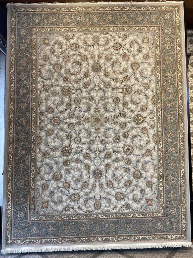 فرش ستاره کویر یزد ۱۵۰۰ شانه افشان فیلی