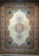 فرش قالی سلیمان طرح اساطیر کرم