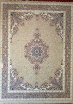 فرش قالی سلیمان طرح پونه بژ