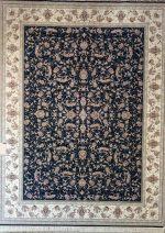فرش قالی سلیمان طرح افسانه سرمه ای